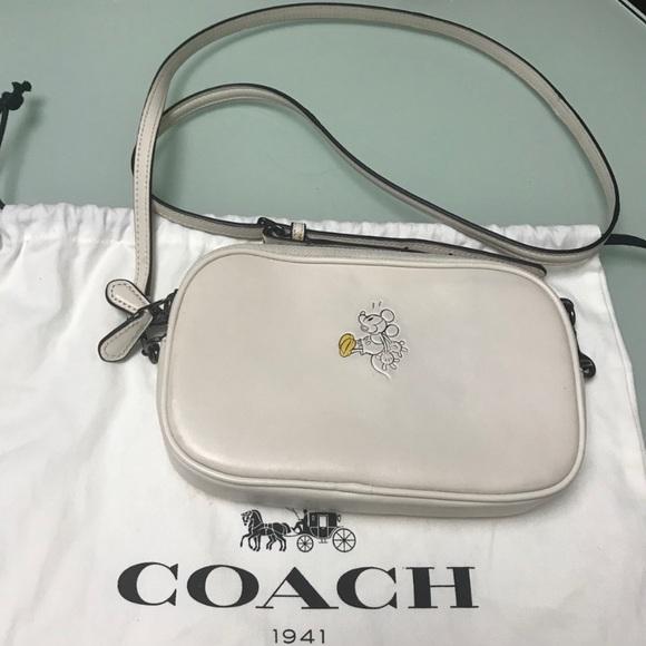 Coach X Disney Mickey Mouse collaboration bag